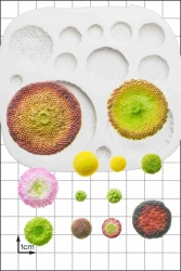 'Flower Centres' Silicone Mould